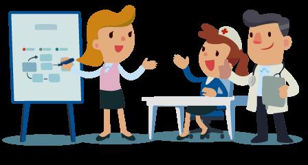 Médiconseil formation vous propose des formations continues dans votre établissement de santé