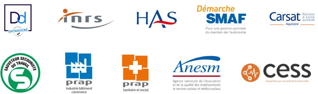 Certifications de l'organisme de formation et cabinet conseil Médiconseil Formation